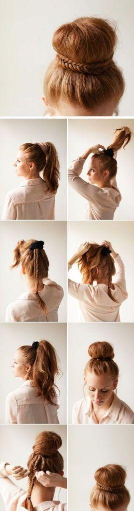peinados faciles 2