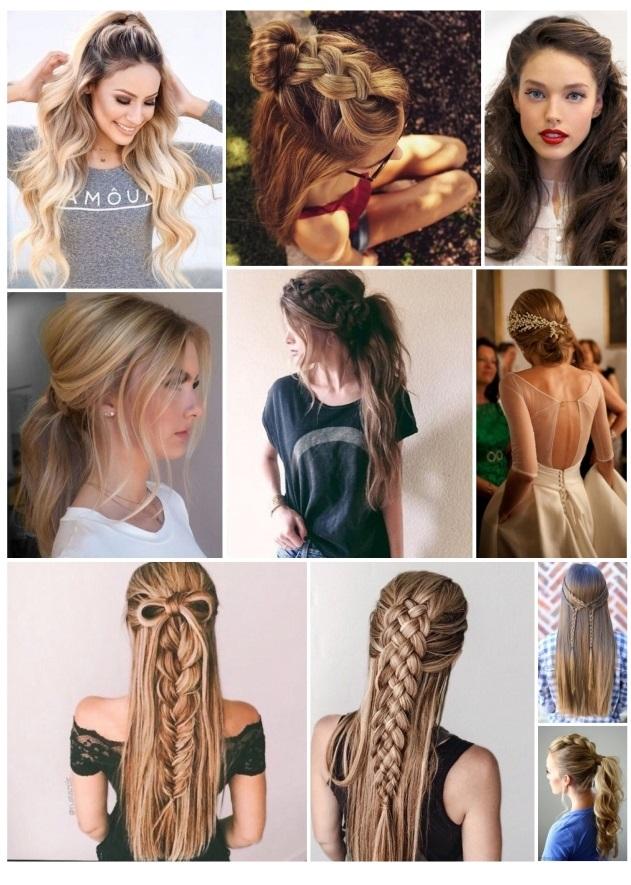 fotos de peinados sencillos pero bonitos