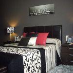 decoración de cuartos en color gris