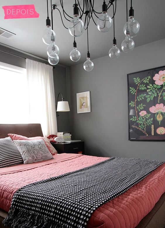 decoración de cuartos en color gris 6