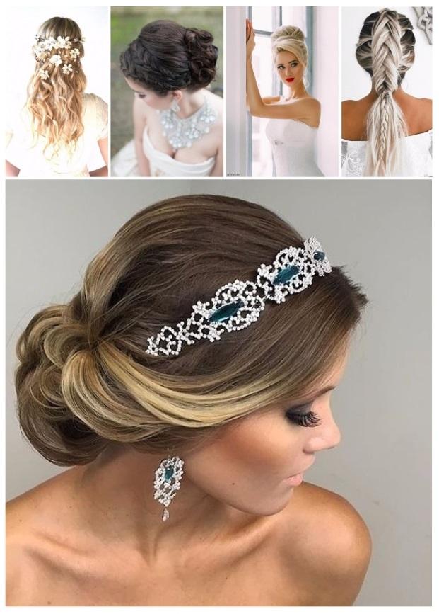 nuevos peinados de novia
