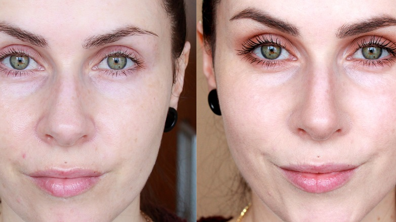 como maquillar una nariz ancha con sombras