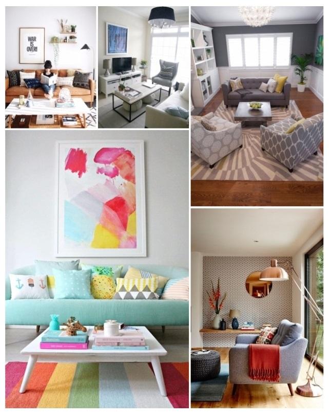 decoración de salas en apartamentos pequeños