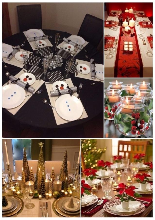 Excepcional Decorar La Mesa Para Navidad Inspiracin Ideas de