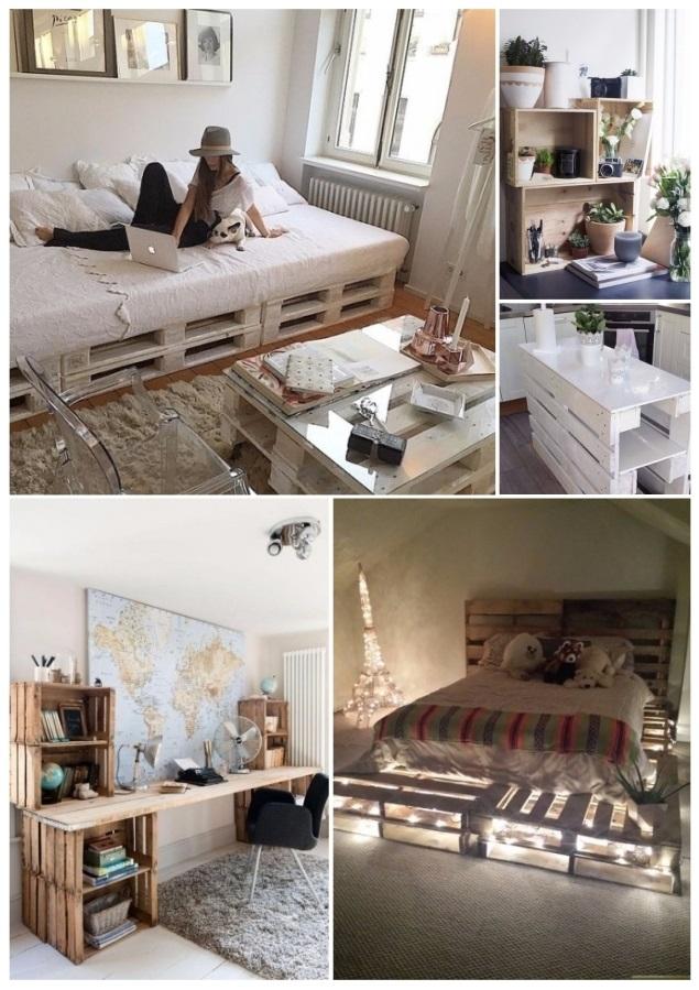 Como decorar tu casa con cajas de madera 30 ideas diy - Como decorar una buhardilla ...