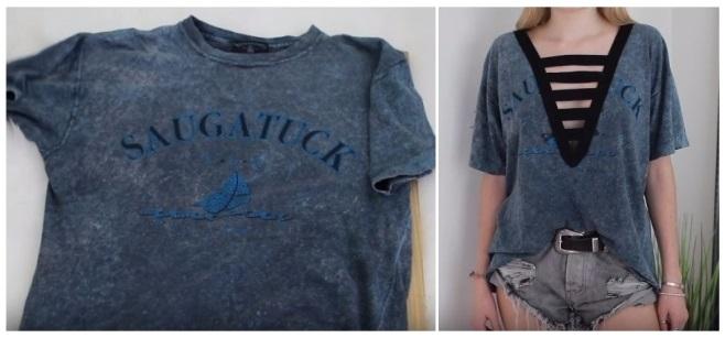 como reciclar tus camisetas viejas fácilmente