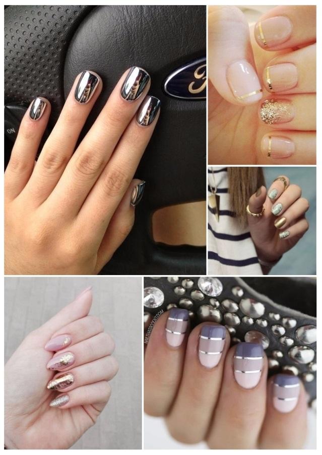 diseños de uñas decoradas con gelish