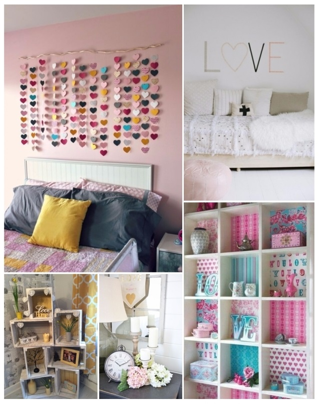 Como decorar para san valent n 60 hermosas ideas de for Como hacer decoraciones para tu cuarto