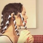 como hacer rizos en el cabello con papel aluminio fácilmente