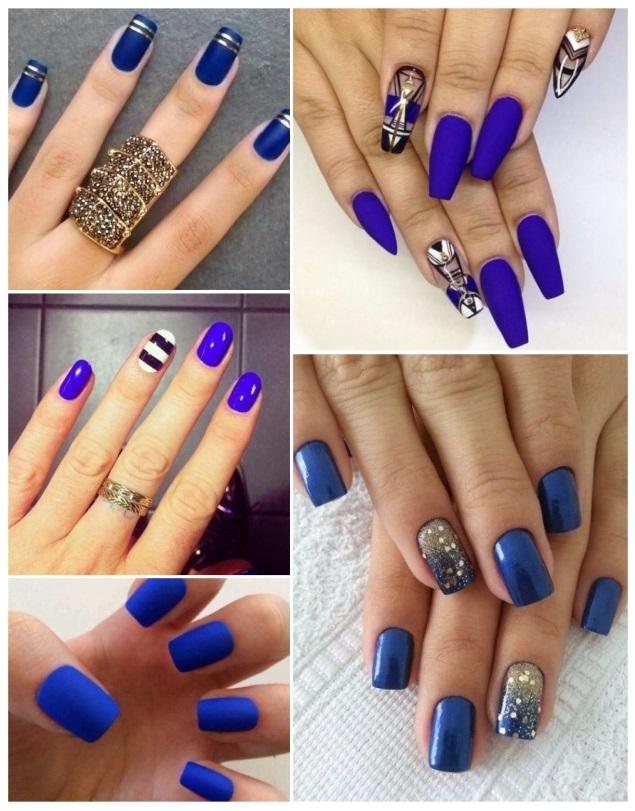 Decoración de uñas azul: ¡50 diseños fáciles con estilo!