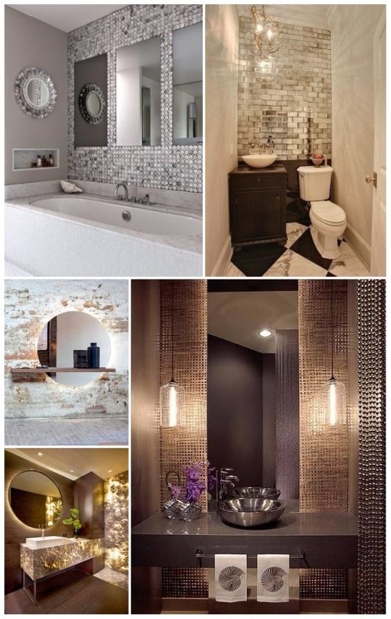 amazing como decorar un bao pequeo con espejos with como decorar un bao pequeo - Como Decorar Un Bao