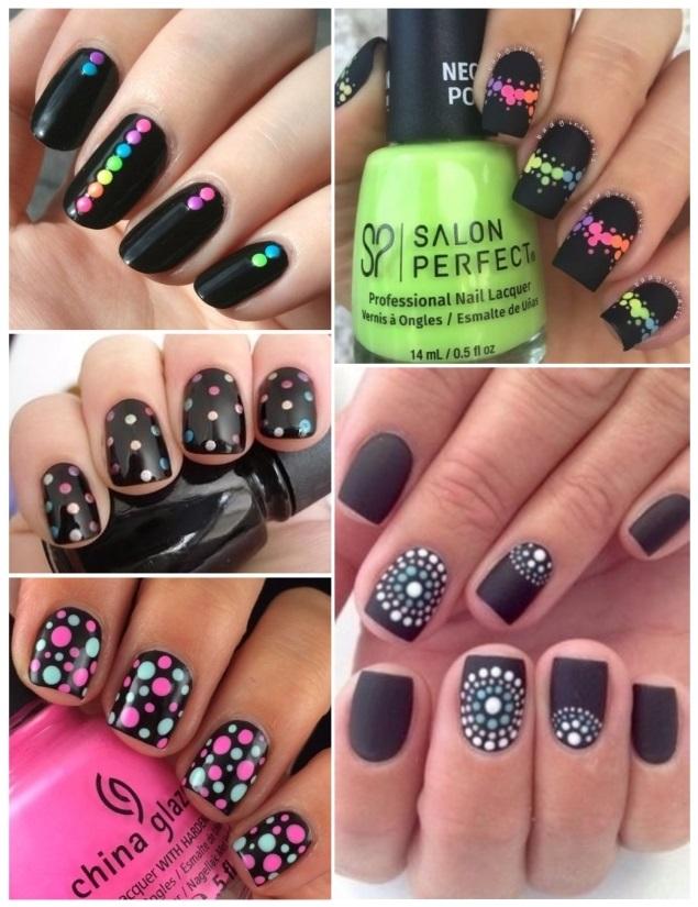 Decoración de uñas negras: ¡+50 ideas para manicuras oscuras!