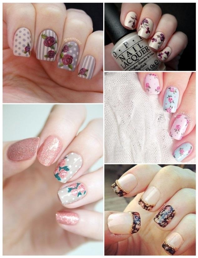 imágenes de uñas estilo vintage