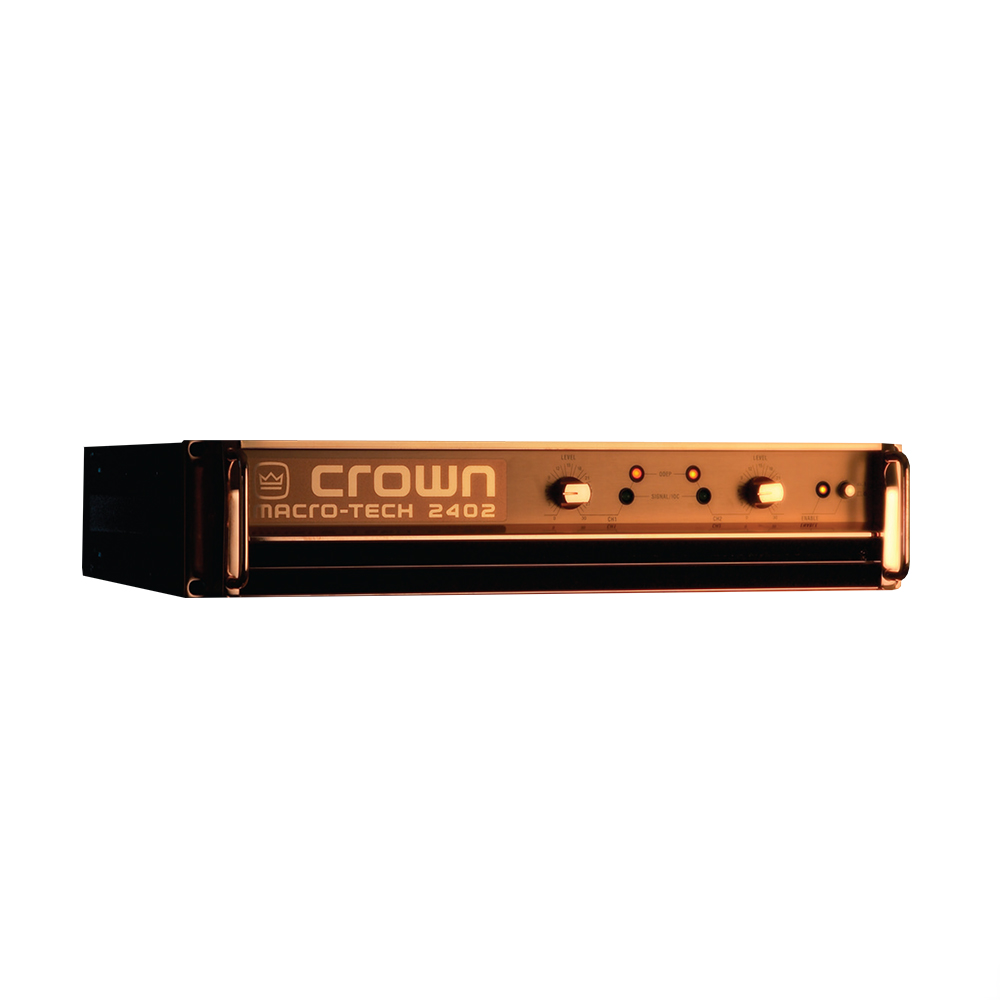Crown Amplifiers Crown Ma2402ae Macro Tech Anniversary Edition Series Amplifier