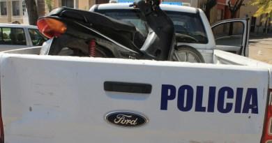 moto patrullero