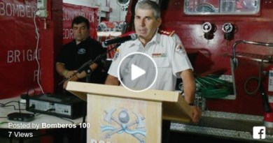 bomberos autoridades