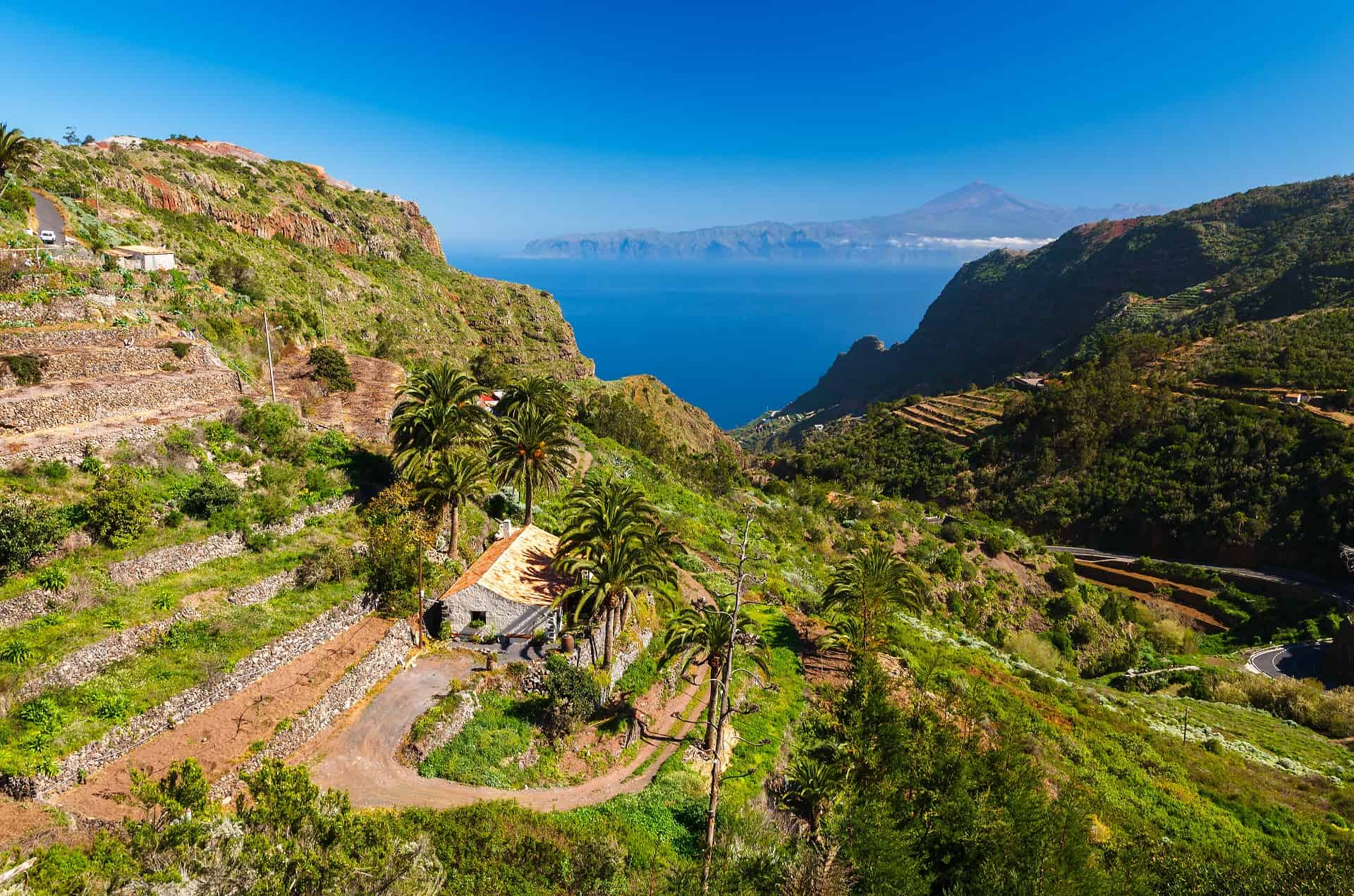 Ferienhaus Mit Pool La Gomera Holiday Cottage La Gomera Valley And Sea Views With Teide In The