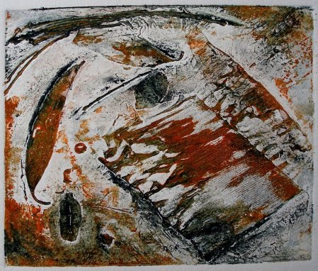 Collagraph by Pam Bleakley