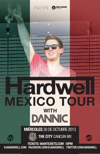 Hardwell en Cancun - Octubre 2013