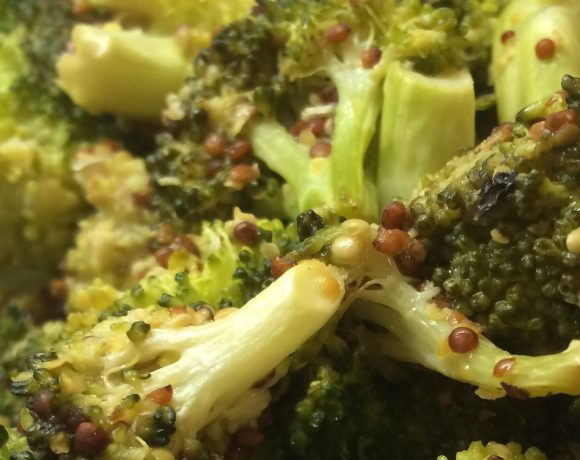 Roasted Broccoli with Mustard Seed