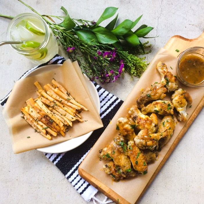 RECIPE: Citrus Glazed Chicken Wings | Paleo, Whole30 | by Candace Kennedy