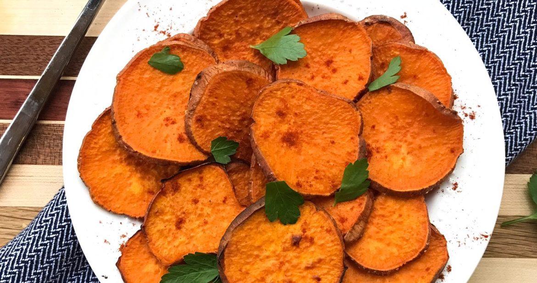 RECIPE: Oven-Roasted Sweet Potatoes
