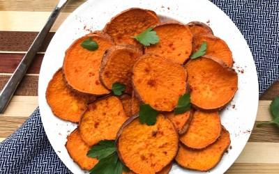 Oven-Roasted Sweet Potatoes