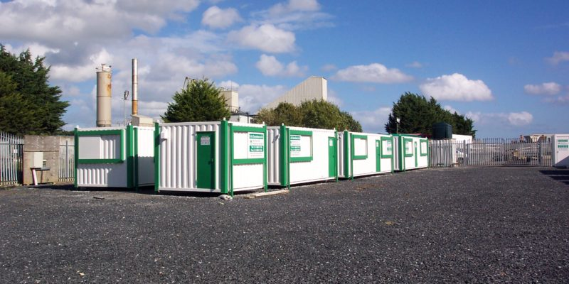 Anti-vandal office and Container Hire - Civil Engineering Contractor
