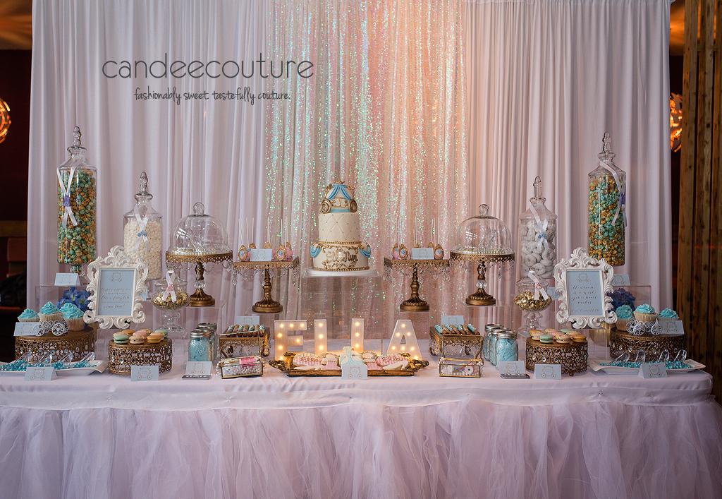 Ella39s Cinderella Sweet Table Candee Couture Dallas Texas
