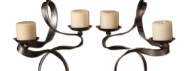 Loop Candleholders - Set of 2