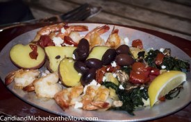 Michael's delightful Mediterranean Shrimp