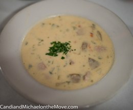 She crab chowder - YUM!