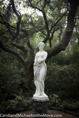 This sculpture depicts what Virginia Dare might have looked like if she had grown to adulthood