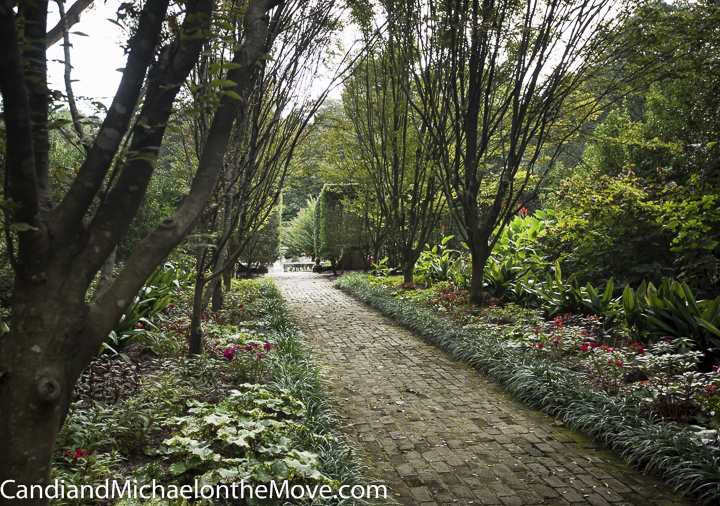 A pathway enticing you to walk deeper into the garden