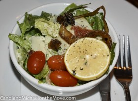 The surprising Caesar Salad