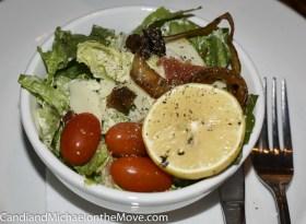The surprising Caesar Salad