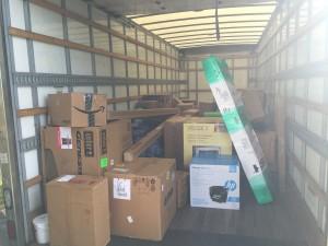 The last load.