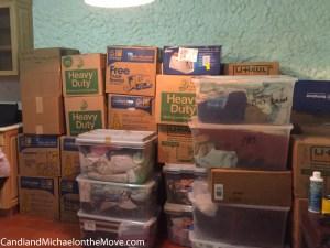 Our spacious kitchen, (thank goodness!)