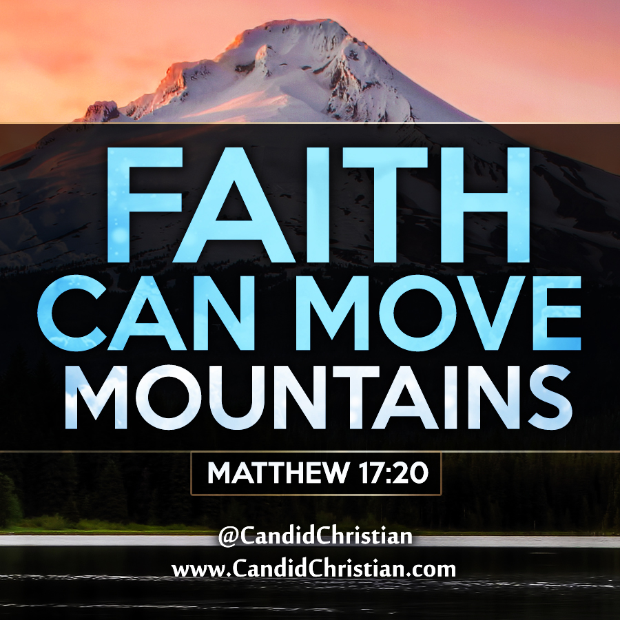 Godly Wallpaper Quotes Faith Can Move Mountains Candid Christian