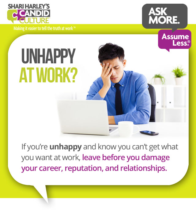 how to know when to quit your job Archives - Shari Harley