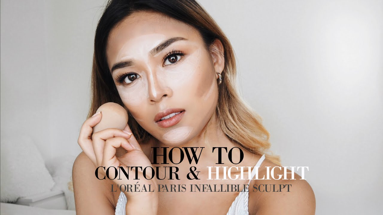 NATURAL BEAUTY CONTOUR WITH L'ORÉAL PARIS INFALLIBLE SCULPT