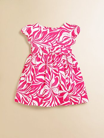 Infant's Linney Dress & Bloomers Set in Orchid Pink. Saks Fifth Avenue easter