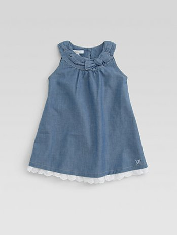 Easter Gucci Infant's Chambray Dress