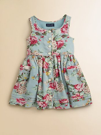 Ralph Lauren Toddler's (& Little Girl's) Floral Sundress. Saks Fifth Avenue