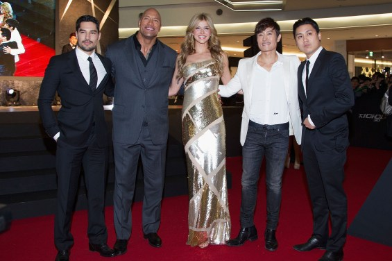 163299350MG00030 G I Joe Re 565x376 Dwayne Johnson & Co Stars At G.I. Joe: Retaliation Seoul Premiere
