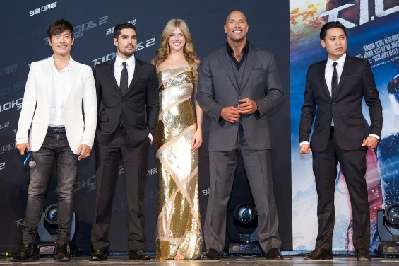 163299350MG00031 G I Joe Re 565x376 Dwayne Johnson & Co Stars At G.I. Joe: Retaliation Seoul Premiere
