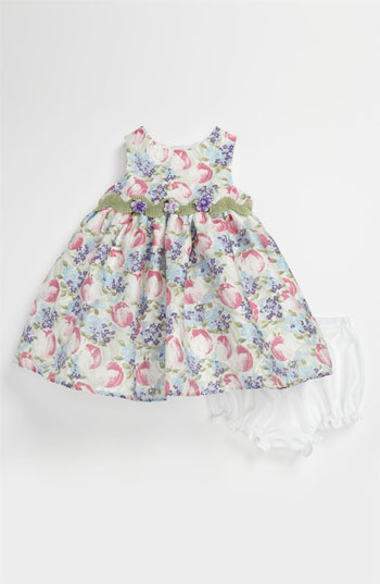 Pippa & Julie Burnout Tulip Dress & Bloomers (Infant) Easter