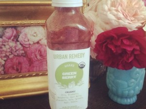 Urban Remedy Green Berry juice is my favorite! I love it, and it provided me with so much energy in the morning.