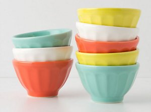 Mini Latte Bowls. Anthropologie