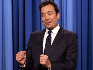 "Jimmy Fallon celebrates his 40th birthday on Friday, September 19th with Seth Rogen, James Franco, James Spader, Stevie Wonder and Friday night thank you notes on ""The Tonight Show Starring Jimmy Fallon""!"
